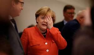 Merkel TURMOIL: Two thirds of Germans back Chancellor's ...