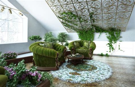 Home Decor Plants : Cheap Ideas For Eco Friendly Interior Decorating With