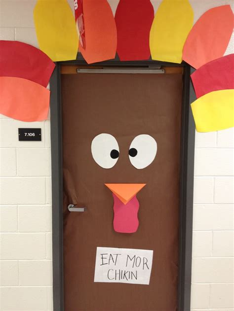 Kindergarten Thanksgiving Door Decorations by 21 Best Holidays In The Residence Halls Images On