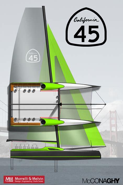 Gc32 Catamaran Cost by California 45 Foiling Catamaran The Daily Sail