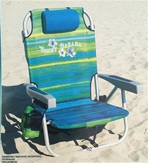from usa 2 bahama 2016 backpack cooler chair with storage pouch and towel bar green blue