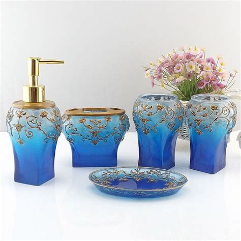 aliexpress buy blue royal bathroom