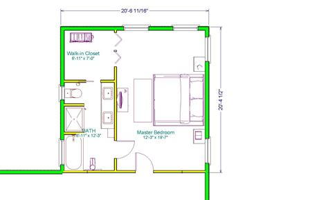 the executive master suite 400sqft home interior