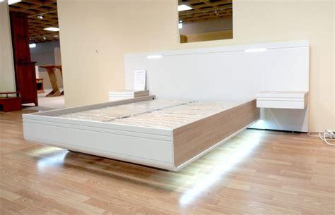 lit adulte avec chevet int 201 gr 201 led lit adulte couchage 140 x 190 avec