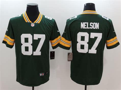 Discount Men's Nike Green Bay Packers #87 Jordy Nelson