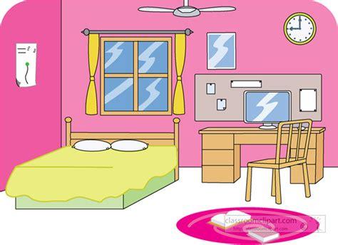 home bedroom 2 classroom clipart