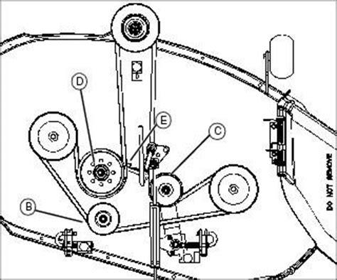troy bilt bronco deck belt diagram troy free engine image for user manual