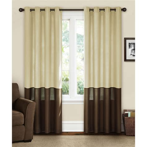 Walmart Grommet Top Curtains by Canopy Canopy Lined Color Band Grommet Top Energy