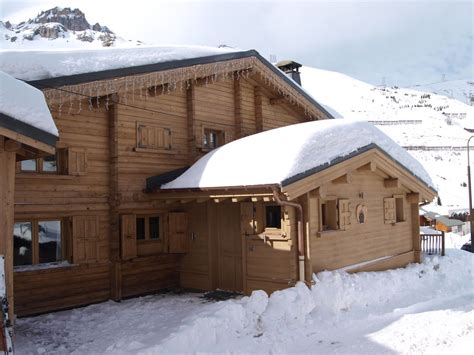 ski chalet l ours brun tignes luxury ski in ski out chalet with and sauna 940842