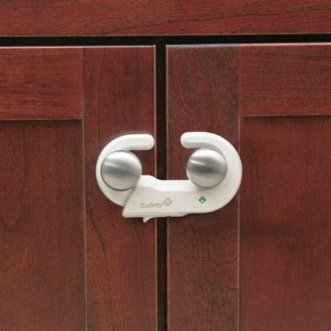 safety 1st grip n go cabinet lock with secure tech for baby safety
