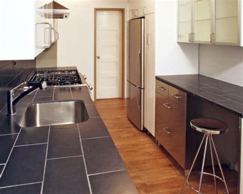cuisine moderne avec un plan de travail en carrelage photos et id 233 es d 233 co de cuisines