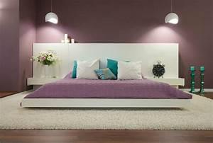 Lila Im Schlafzimmer : wohnideen f r farbgestaltung wohnzimmer 12 wandfarben ~ Markanthonyermac.com Haus und Dekorationen