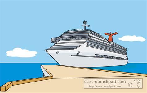 Cartoon Boat Dock by Dock Clip Art Cliparts