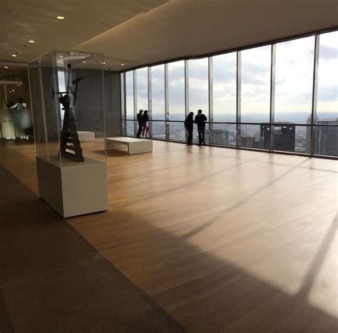 jp tower sky lobby observation deck houston downtown view stellar views