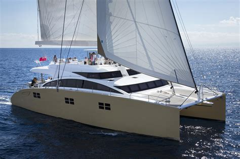 Plastic Catamaran Hull by Brochure Sunreef 82 Double Deck Catamaran For Sale Sunreef