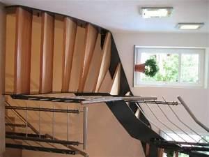Holz Treppenstufen Erneuern : stufen einer treppe aus holz und gel nder aus metall edelstahl in cham vom tischler f r ~ Markanthonyermac.com Haus und Dekorationen