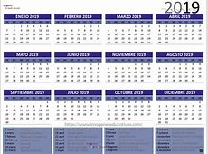 Calendario 2019 4 Imagenes Educativas