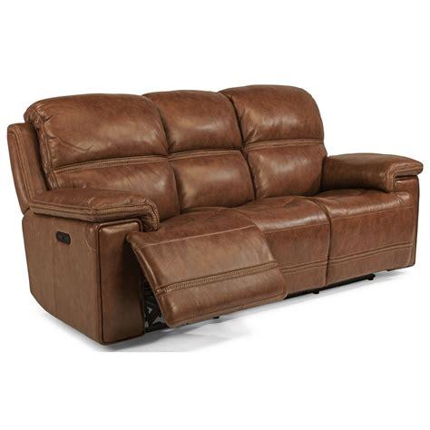 Flexsteel Latitudes Power Reclining Sofa by Flexsteel Latitudes Fenwick Power Reclining Sofa With