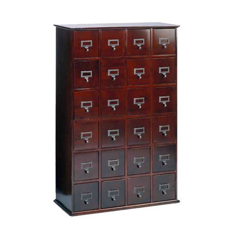 leslie dame library style multimedia storage cabinet cherry cd 456chy