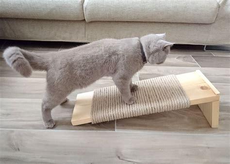 Diy A Sleek And Modern Cat Scratcher