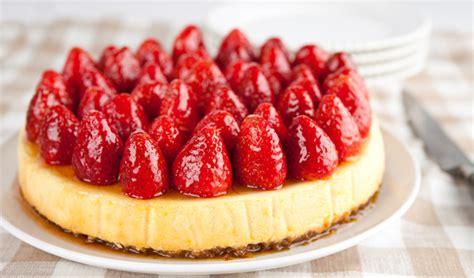 strawberry cheese cake strawberry cheesecake in the kitchen with stefano faita