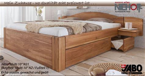 Holzbetten Massivholz  Jabo Massivholz Betten Und