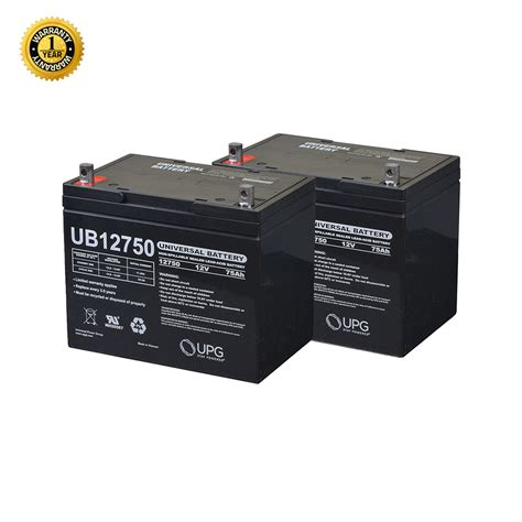 24 volt 24 75 ah battery pack for the jazzy 1120