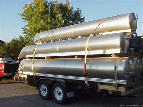 Aluminum Pontoon Tubes For Sale by Used Pontoon Logs Boats For Sale