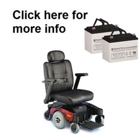Pronto M6 Power Chair by Batteries For All Invacare Pronto Power Wheelchairs