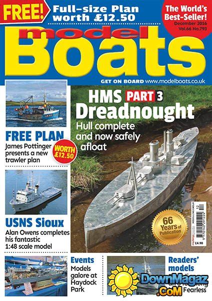 Model Boats Magazine Download by Model Boats 12 2016 187 Download Pdf Magazines Magazines