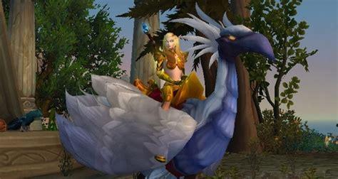 Serre Vengeresse by Faucon P 233 R 233 Grin Ivoire Montures World Of Warcraft