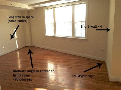 awkward living room layout with fireplace an awkward shaped living room work i m bored let