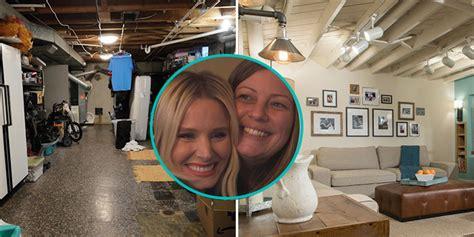 Kristen Bell Surprise Basement Makeover  Kristen Bell