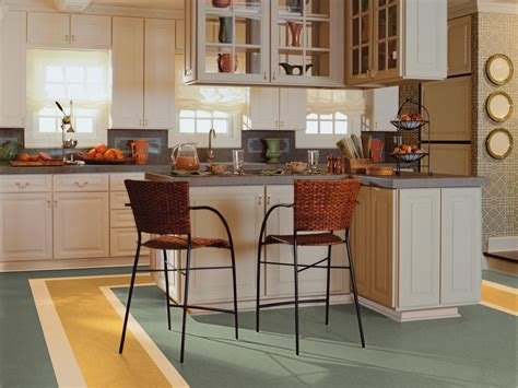 Linoleum Flooring In The Kitchen What Color To Paint Kitchen With Dark Cabinets Cabinet Doors Prices Island Base Glass Examples How Decorate Top Of Dynasty Omega Refacing