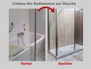 Badewanne Zur Dusche Umbauen : wanne zur dusche in nur 8 stunden badbarrierefrei leipzig ~ Markanthonyermac.com Haus und Dekorationen