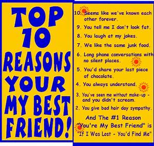 Top 10 Reasons You're My Best Friend.