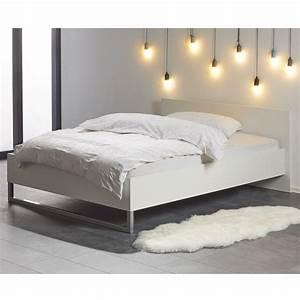Bett Weiß Lackieren : bett style 140x200 cm wei d nisches bettenlager ~ Markanthonyermac.com Haus und Dekorationen