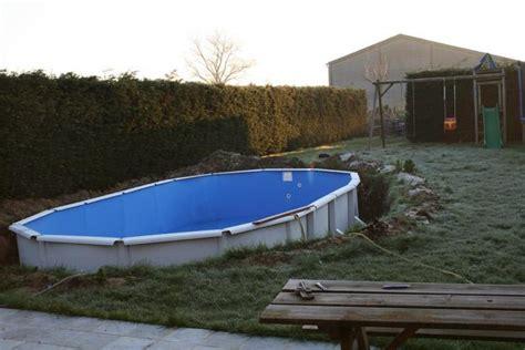 nivrem montage terrasse bois piscine hors sol diverses id 233 es de conception de patio en