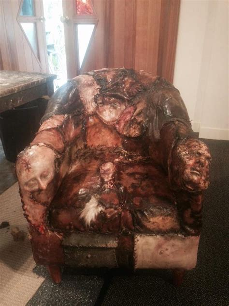christopher sun on quot new ed gein inspired chair being made at slfx hq for the release of
