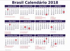 Calendario 2018 feriados 2018 Calendar printable for
