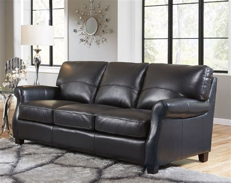 Lazzaro Carlyle 3 Piece Leather Living Room Set In Black Interior Beige Paint Colors Best For Exterior Wood Siding Metallic Faux Painting Techniques Flat Black Jacksonville Fl Home Paints Trends In Textured Masonry