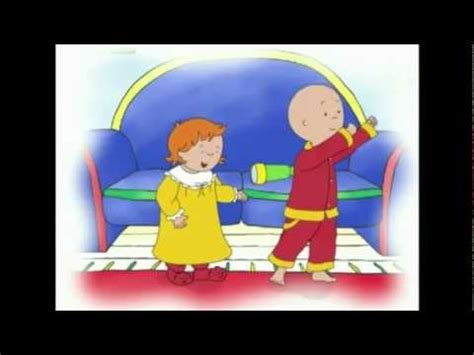 caillou in the bathtub vidoemo emotional