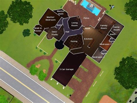 sims 3 floor plan ideas search amanda