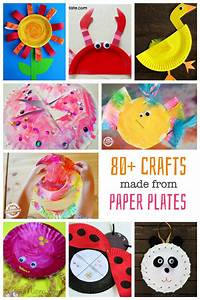 Craft Work With Paper Plates | find craft ideas