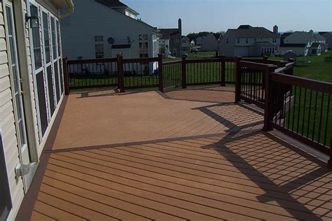moisture shield composite decks photos lehigh valley