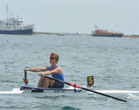 Triple Sculling Boat by Triple Success For Shanklin Sandown Rowing Club