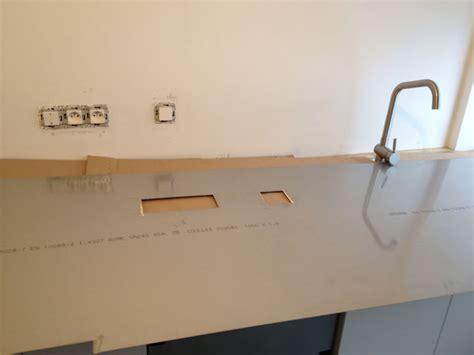 plakinox installation pose d une cr 233 dence plaque en inox