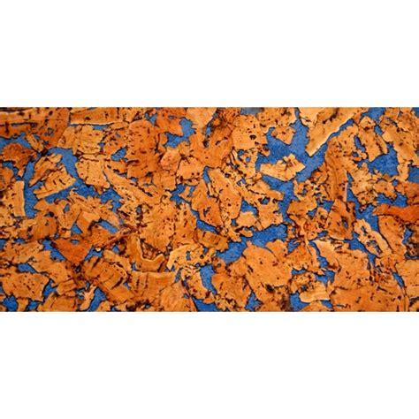 plaque de liege mural d 233 coratif vario azul 3x300x600mm colis 1 98 m2