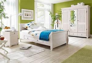 Schlafzimmer Set Massivholz : massivholz schlafzimmer set komplett kiefer massiv wei lasiert ~ Markanthonyermac.com Haus und Dekorationen