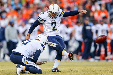 Chargers Kicker Josh Lambo Seen Laughing It Up After Loss